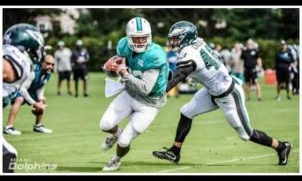 Miami Dolphins Joint Practice RECAP 8.22.17