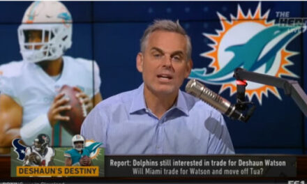 Colin Cowherd Shares His Thoughts on the Watson to Miami Reports