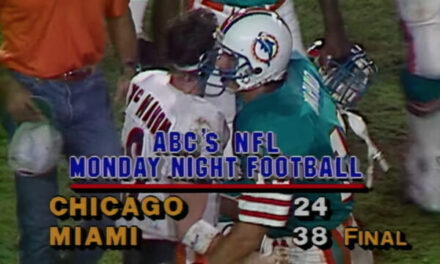This Day in Dolphins History: December 2nd 1985-Dolphins Beat the Bears on MNF
