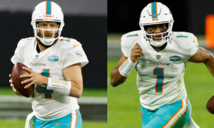 All-22 Breakdown: Why Does the Dolphins offense Look Better with Fitzpatrick?