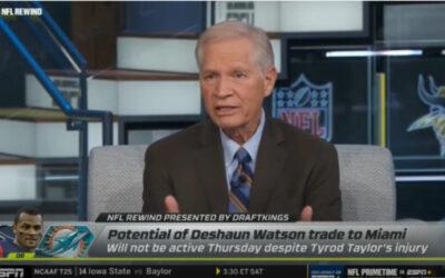 Chris Mortensen of ESPN on if Tua's Injury will Heat up Watson Trade Talks with Houston