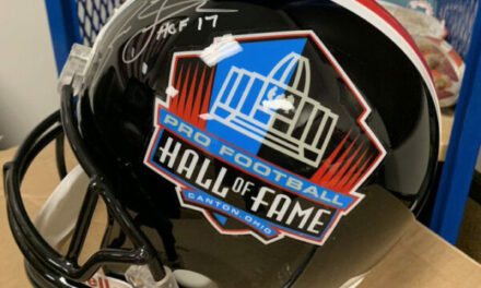 Win a Jason Taylor HALL OF FAME Autographed Helmet