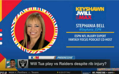 ESPN's Stephania Bell on Tua's Rib Injury and Will He Play