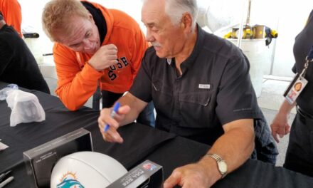 Meeting Larry Csonka