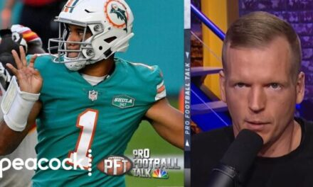 Simms: Dolphins Shouldn't have Run on 4th-and-1