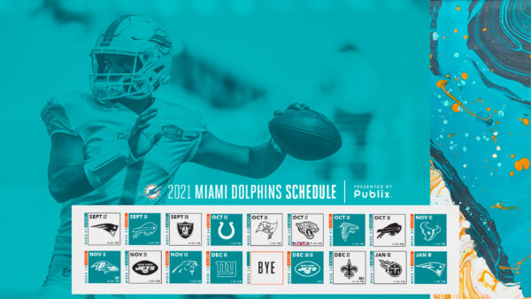 DOLPHINS' SCHEDULE RELEASED: PREDICTING FINAL 8 GAMES