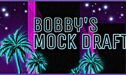 Bobby's 2020 Mock Draft 1.0