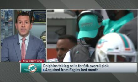 Ian Rapoport and Rich Eisen Discuss Why Miami Would Trade Down from Pick #6