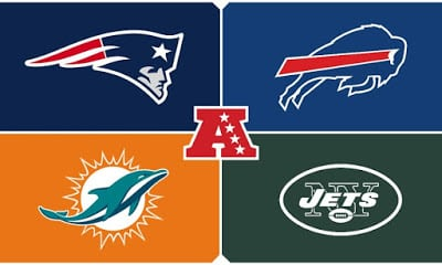 How The Dolphins Stack Up in the AFC East Pre-Draft