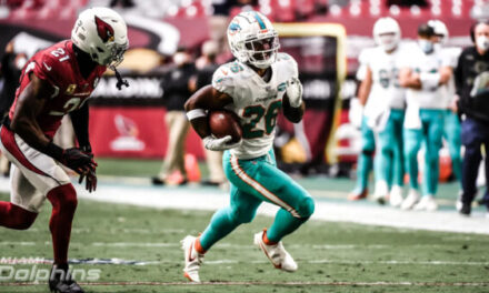 The Miami Dolphins Search for a Running Game
