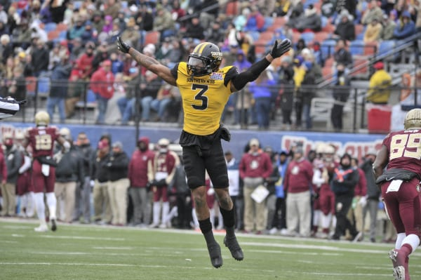 Round 6: Miami Selects -Cornell Armstrong, CB, Southern Miss