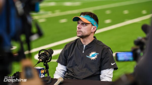 Dolphins Defensive Staff Meets with Media