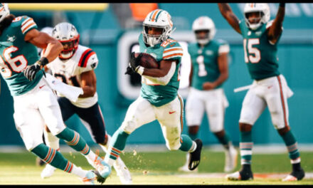 The Miami Dolphins Running Into the Postseason