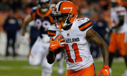 Dolphins Sign Antonio Callaway to their Practice Squad