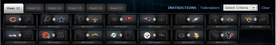 Playoffs?! An in depth look at Week 12 and Beyond