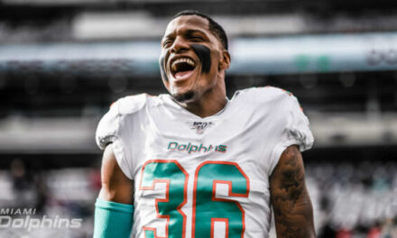 Dolphins To Release Safety Adrian Colbert Who Started 5 Games Last Season