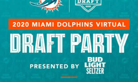 Miami Dolphins Virtual Draft Party on April 23rd