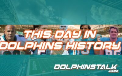 This Day in Dolphins History: July 9th