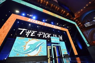 Bobby's Dolphins Mock Draft 2.0 (Miami trades up and lands Mayfield)