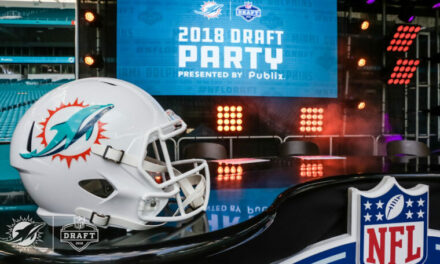 The Miami Dolphins Are Now On The Clock