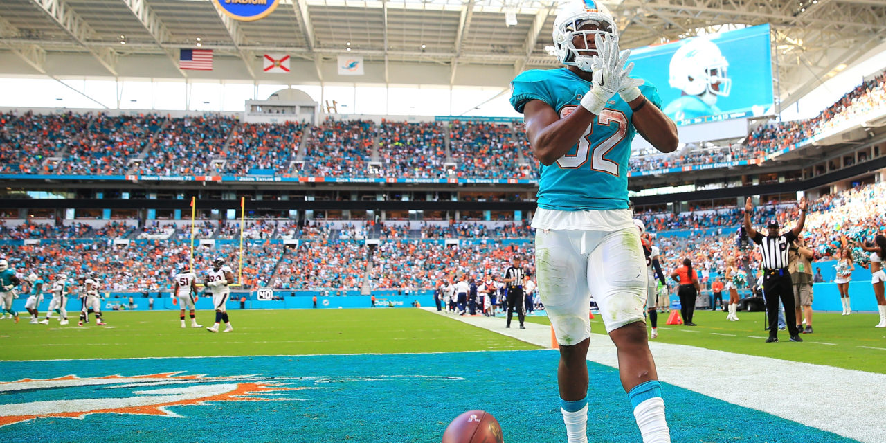 How Will Adam Gase Distribute Carries in 2018- JUST RUN THE ROCK