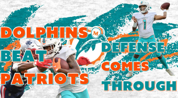 The Same Old Dolphins Show: Hard Fart Victory (Dolphins Beat Patriots 17-16)