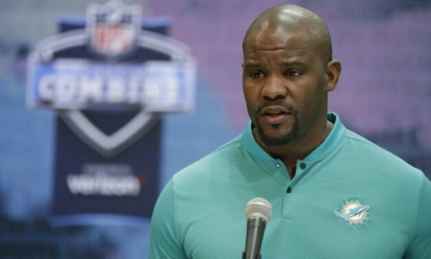 FULL VIDEO: Brian Flores & Chris Grier From the Combine