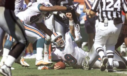 This Day in Dolphins History: September 23rd, 2001