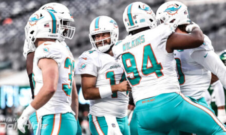The Dolphins Sweep the Jets in 2020
