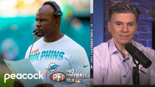 Mike Florio & Chris Simms Talk Brian Flores as Coach of the Year Candidate