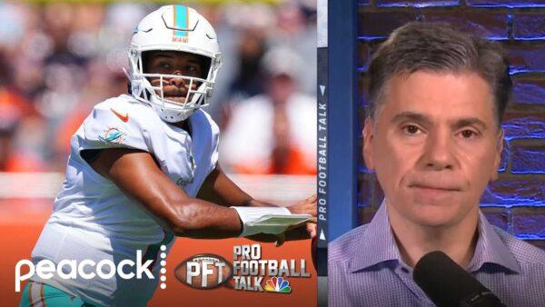 NBC SPORTS: Mike Florio and Chris Simms Talk Tua Tagovailoa