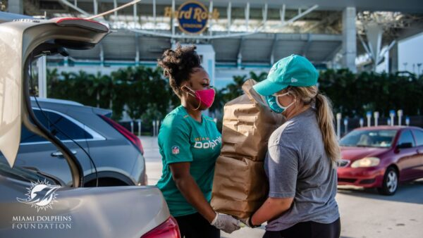 The Miami Dolphins Foundation Food Relief Program
