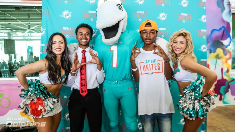 Miami Dolphins Football Unites Tailgate