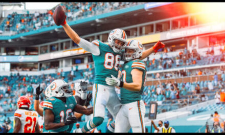 Dolphins Showed They Can Compete With The Elite
