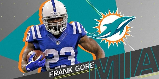 DT Daily for Thurs, March 22nd: Frank Gore signs, Brock Osweiler Visits, & other Fins News