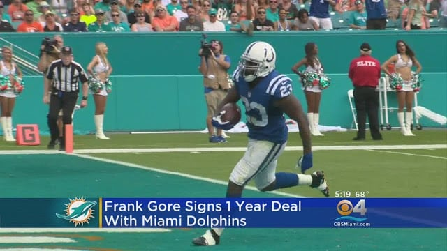 What Does Frank Gore Bring To The Dolphins?