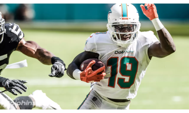 Three Reasons for Optimism On the Dolphins