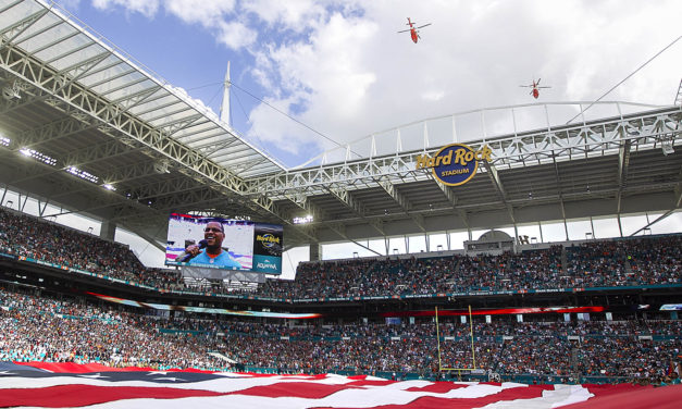 Fireworks in 2018 For the Dolphins