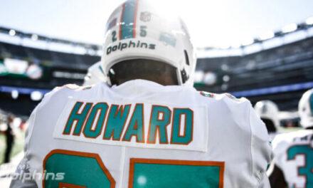 BREAKING NEWS: Dolphins Restructure Xavien Howard's Contract