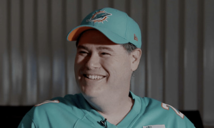 DolphinsTalk Podcast: Ian Berger Talks About Being a Finalist for Fan of the Year