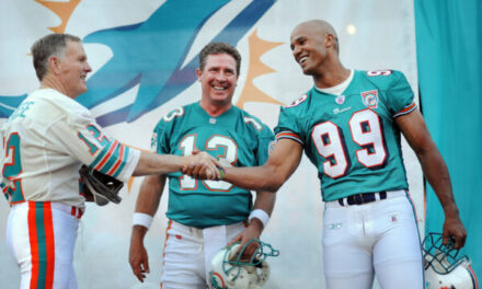 BREAKING NEWS: Jason Taylor Replaces Bob Griese on Dolphins Radio Broadcasts