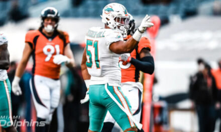 Dolphins Fall Apart in Denver