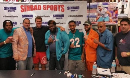 Kiko Alonso at Sinbad Sports