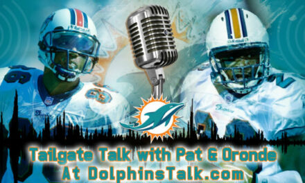 TAILGATE TALK WITH PAT & ORONDE FOR SEPT 6th