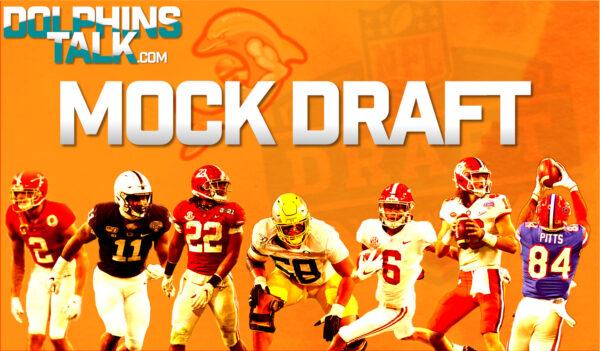 Tom Ernisse's DolphinsTalk.com Mock Draft 1.0