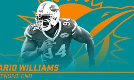 Breaking News: Dolphins sign DE Mario Williams