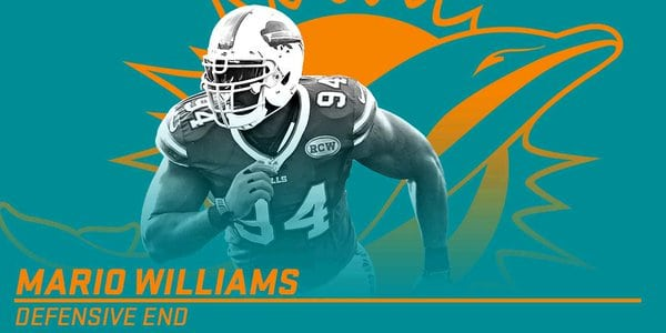 Breaking News: Dolphins sign DE Mario Williams
