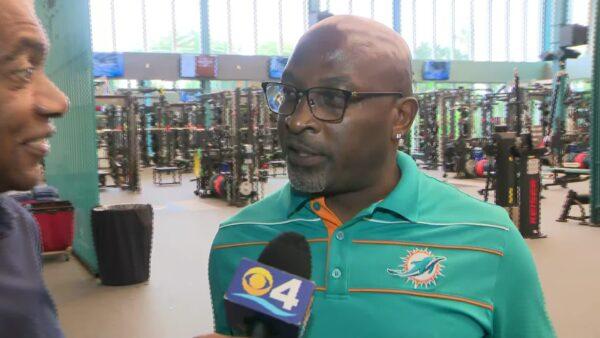 CBS 4: O.J. McDuffie On New Dolphins Training Facility