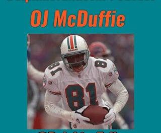 DolphinsTalk.com Daily Podcast: OJ McDuffie Interview