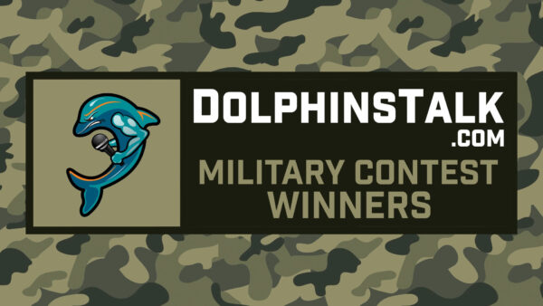 DolphinsTalk.com Military Fan of the Year Contest Winners